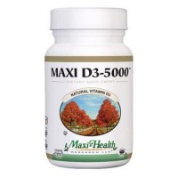 Maxi health kosher vitamins maxi d3 5000 5000 iu - 90 Tablets
