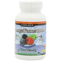 Maxi health kosher vitamins omega yums 1000 chewable - 110 ea