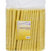 Cylinder works cylinders beeswax  - 100 ea