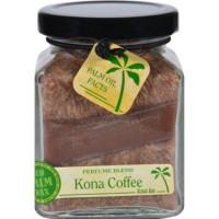 Aloha bay candle  cube jar  perfume blends  kona coffee - 1 ea, 6 oz
