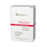Olivella facend body bar soap pomegranate - 5.29 oz