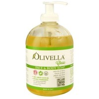 Olivella face and body soap - 16.9 oz