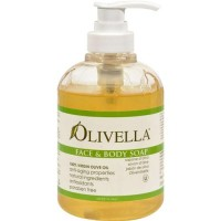 Olivella virgin olive oil face and body liquid soap - 10.14 oz