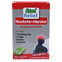 Homeolab usa headache and migrane symptom relief tablets - 90 ea