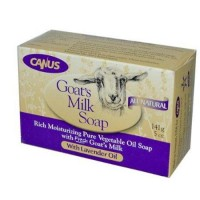 Nature by canus bar soap goats milk lavender oil - 5 oz