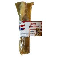 Best Buy Bones usa beef backstrap dog chew treat - 7 inch, 12 ea
