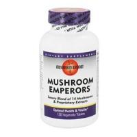 Mushroom wisdom (formerly maitake products) mushroom emperors - 120 ea