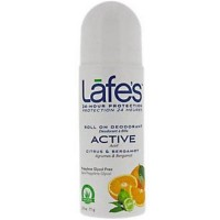 Lafe's Roll-On Deodorant, Citrus & Bergamot -  2.5 oz