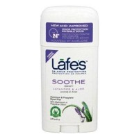 Lafes  24 hour protection deodorant stick soothe lavender and aloe - 2.25 oz