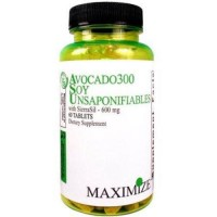 Maximum international avocado 300 soy unsaponifiables with sierrasil 600 mg tablets - 60 ea