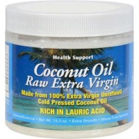 Health support raw coconut oil - 15.3 oz