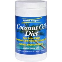 Health support coconut oil diet raw extra virgin - 1 ea,30 oz