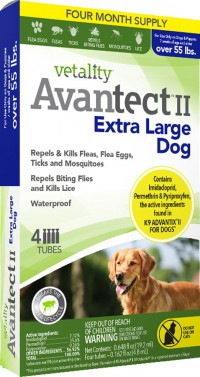 Tevra Brands, Llc vetality firstect plus for dogs - 6-22lbs 3pk, 12 ea