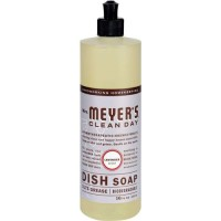 Mrs. Meyer s clean day liquid dish soap lavender - 16 oz, 6 pack
