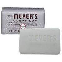 Mrs. Meyers bar soap lavender - 5.3 oz,12 pack