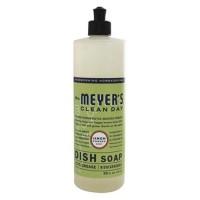 Mrs.meyers clean day liquid dish soap lemon verbena - 16 oz, 6 pack
