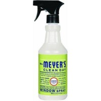 Mrs. Meyers clean day glass cleaner spray lemon verbena - 24 oz,6 pack