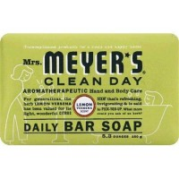 Mrs. Meyer's clean day daily bar soap lemon verbena - 5.3 oz,12 pack