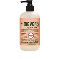 Mrs. meyers liquid hand soap geranium - 12.5 oz, 6 pack