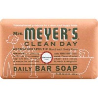 Mrs meyers bar soap geranium - 5.3 oz