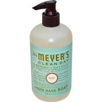Mrs. meyers clean day liquid hand soap basil - 12.5 oz, 6 pack