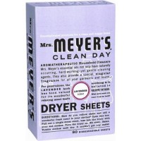 Mrs. Meyer's Clean Day Dryer Sheets  Lavender - 80 ea, 12 pack