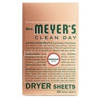 Mrs meyers clean day dryer sheet - 80 ea, 12 pack