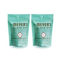 Mrs. Meyers automatic dishwasher packs basil  - 12.7 oz