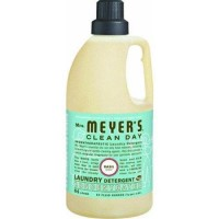 Mrs meyers clean day laundry,basil detergent - 64 oz,6 pack