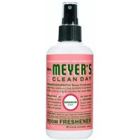 Mrs. Meyers room freshener,geranium - 8 oz, 6pack