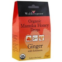 Organic manuka honey drops with echinacea - 4 oz