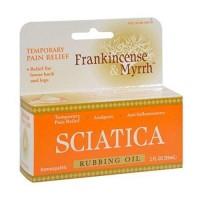 Frankincense and myrrh sciatic rubbing oil - 2 oz