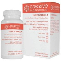 Creative bioscience liver formula dietary supplement - 60 ea