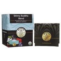 Buddha teas skinny blend tea organic herbs tea bags - 18 ea, 6 pack