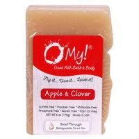 O My! Goat milk soap apple & clover - 6 oz