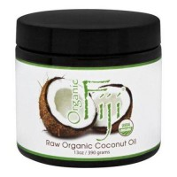 Organic fiji raw organic coconut oil - 1 ea,13 oz
