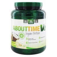 About time ve vegan protein vanilla - 2 lb.