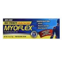 Myoflex pain relieving cream trolamine salicylate - 4 oz