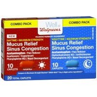 Comtrex cold and cough congestion day/night caplets - 20 ea