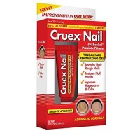 Cruex fungal nail revitalizing gel smooths thick rough nails - 0.27 oz