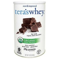 Teraswhey organic  dark chocolate whey protein - 12 oz