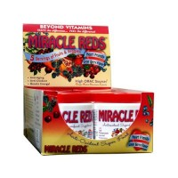 Macrolife naturals miracle reds antioxidant super food - 2 oz, 6 pack
