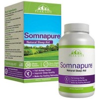 Peak life somnapure natural sleep aid dietary supplement tablets - 30 ea