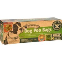 Ecofriendly bags green n pack dog poo bags litter pick up 300 bags - 1 ea