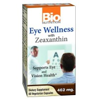 Bio nutrition inc eye wellness with zeaxanthin - 60 ea
