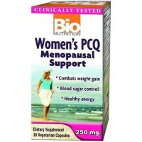 Bio nutrition inc womens pcq menopausal support capsules - 30 ea