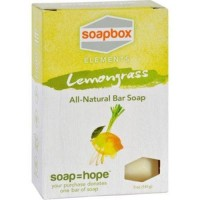 Soapbox bar soap  elements  refresh  lemongrass - 1 ea,5 oz