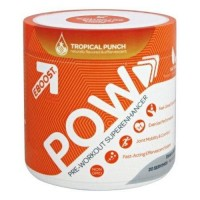 Eboost pow pre workout superenhancer tropical punch - 8.5 oz.