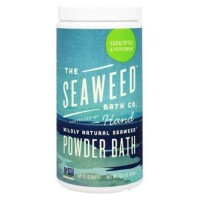 The seaweed bath co wildly natural seaweed powder bath eucalyptus and peppermint - 16.8 oz.