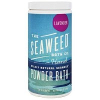 The seaweed bath co wildly natural seaweed powder bath with argan oil lavender scent - 16.8 oz.